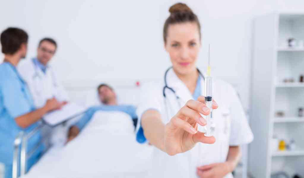 Наркоблокада в Хрипани в клинике